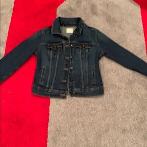 Old Navy Jean jacket button up with front pockets